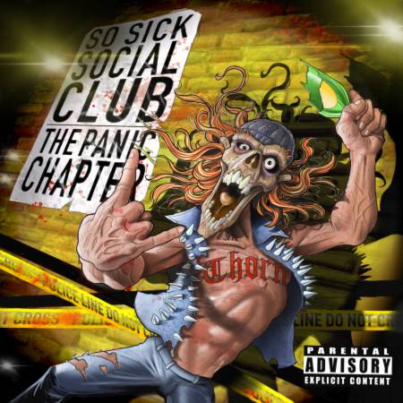 So Sick Social Club - The Panic Chapter [EP] (2020)_cover