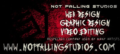 Not Falling Studio - graphic design